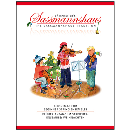 Sassmannshaus: Christimas for Beginner String Ensembles