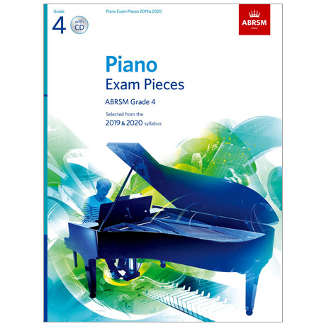 ABRSM: Piano Exam Pieces Grade 4 (2019-2020) (+CD)