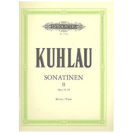 Kuhlau, F.: Sonatinen Band II
