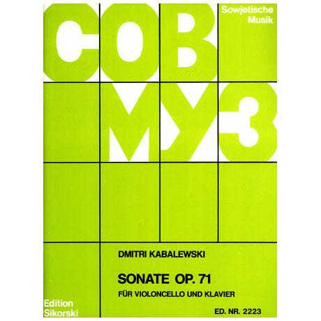 Kabalewski, D.: Sonate Op. 71 B-Dur