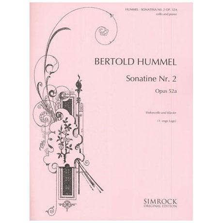 Hummel, B.: Sonatine op.52a Nr.2
