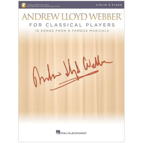 Webber for Classical Violin (+Online Audio)