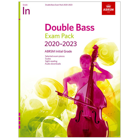 ABRSM: Double Bass Exam Pack Initial Grade (2020-2023)