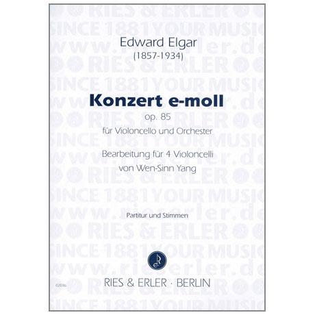 Elgar, E.: Violoncellokonzert e-moll Op. 85