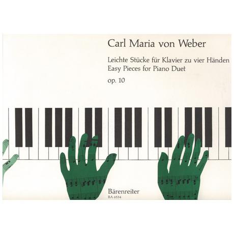 Weber, C. M. v.: Leichte Stücke Op. 10