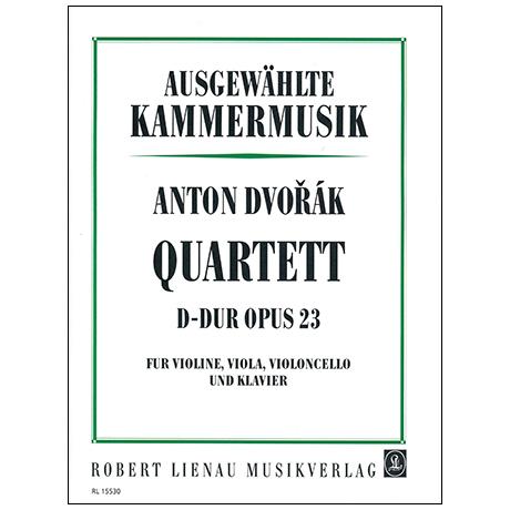 Dvořák, A.: Klavierquartett Nr. 1 Op. 23 B 53 D-Dur