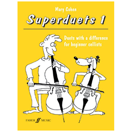 Cohen, M.: Superduets Book 1 – Cello