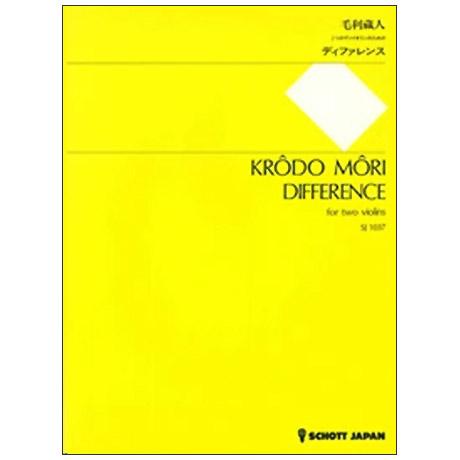 Môri, K.: Difference (1986)