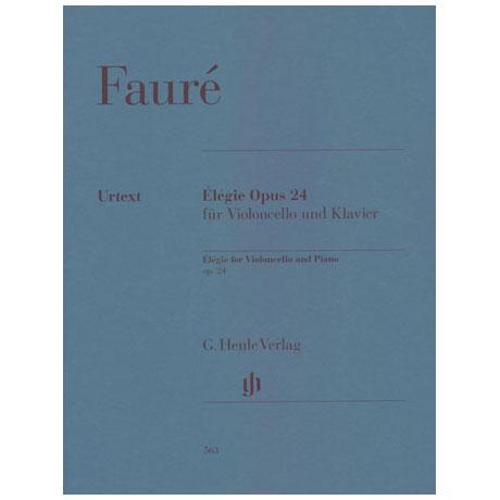 Fauré, G.: Elégie Op. 24
