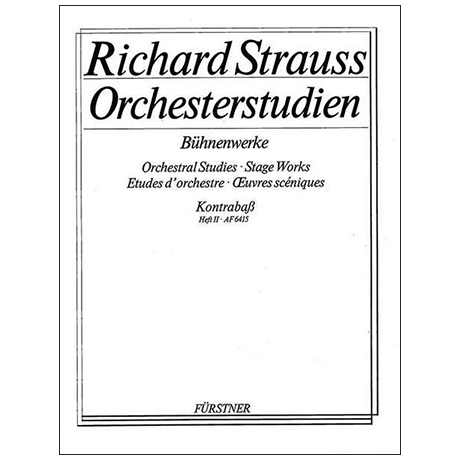 Orchesterstudien: Strauss, R.: Bühnenwerke Band 2