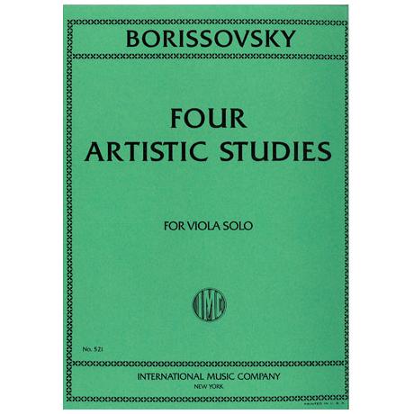 Borisovski, V.: Four Artistic Studies