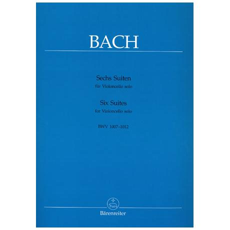 Bach, J. S.: 6 Cello-Suiten BWV 1007-1012 (Wenzinger)