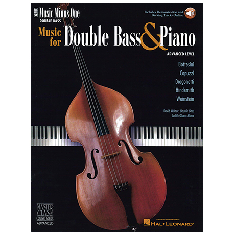 Music for Double Bass (+online Audio)