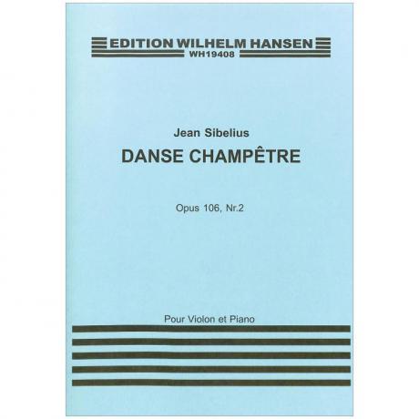 Sibelius, J.: Danse Champêtre Op. 106/2 (1925)