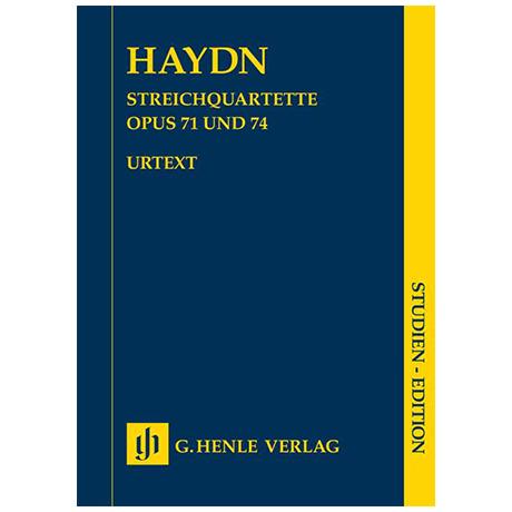 Haydn, J.: Streichquartette Op. 71 und 74 (Apponyi-Quartette)
