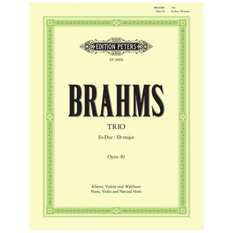Brahms, J.: Klaviertrio Nr. 2 Op. 40 Es-Dur