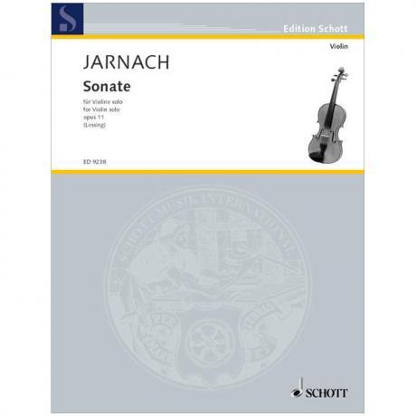 Jarnach, Ph.: Sonate Op. 11 (1913)