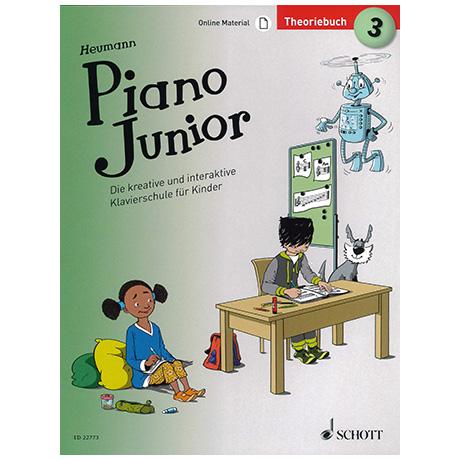 Heumann, H.-G.: Piano Junior – Theoriebuch Band 3 (+Online Material)