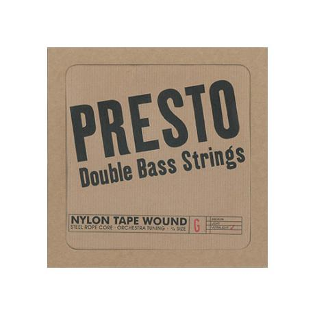PRESTO Nylonwound bass strings SET