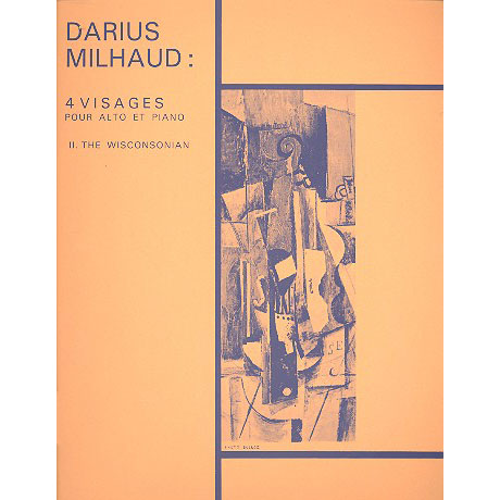 Milhaud, D.: 4 Visages Nr. 2: The Wisconsonian