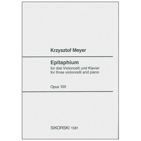 Meyer, K.: Epitaphium Op.100