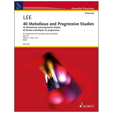 Lee, S.: 40 Melodious and Progressive Studies Op.31 Volume 1