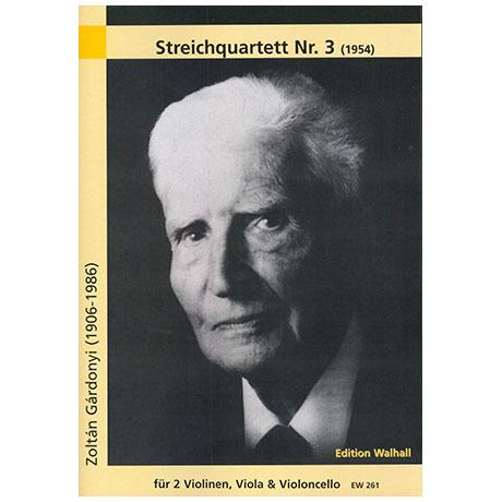 Gardonyi, Z.: Streichquartett Nr. 3