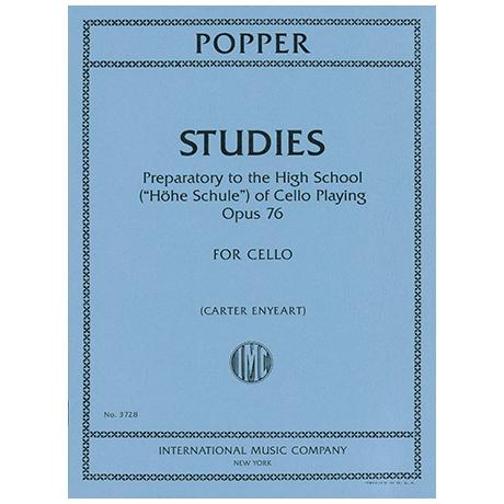 Popper, D.: Etüden Op. 76