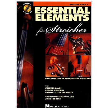 Allen, M.: Essential Elements für Streicher Band 1 – Partitur (+CD)