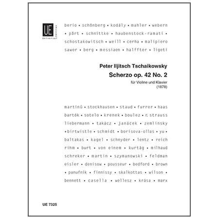 Tschaikowsky, P. I.: Scherzo Op. 42/2 c-Moll