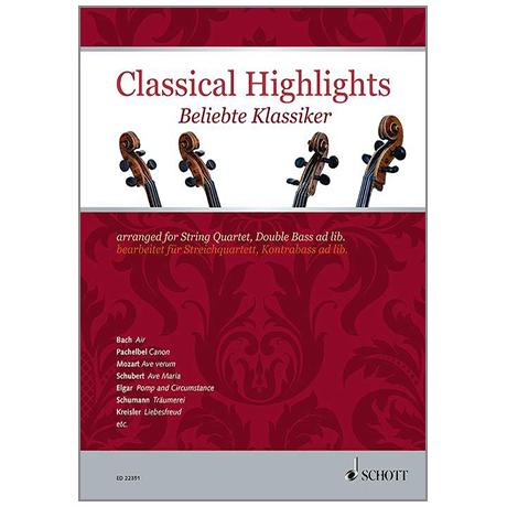 Mitchell, K.: Classical Highights für Streichquartett