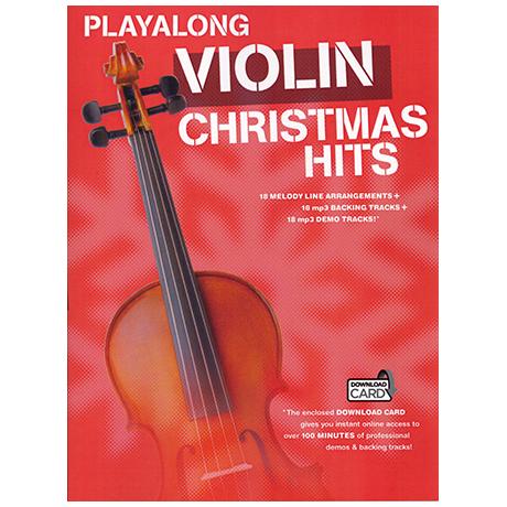 Playalong : Violin - Christmas Hits