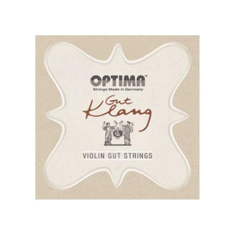 OPTIMA Gut Klang violin strings SET
