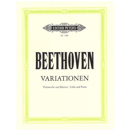 Beethoven, L. v.: Variationen