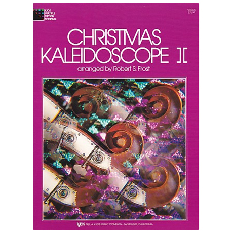 Christmas Kaleidoscope Band 2 – Viola