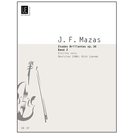 Mazas, J. F.: Etudes brillantes Op. 36 Band 2