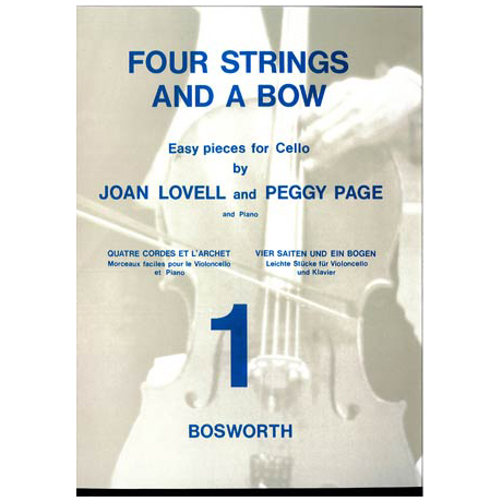 Lovell; J.: Four strings and a bow Vol. 1