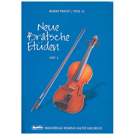 Pracht, R.: Neue Bratschen-Etüden Op.15 Band 1