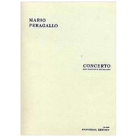 Peragallo, M.: Violinkonzert
