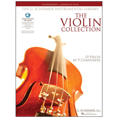 The Violin Collection intermediate to advanced Level (+2CDs)