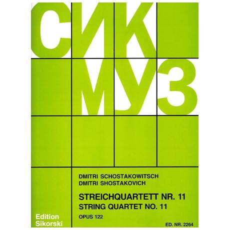 Schostakowitsch, D.: Streichquartett Nr. 11, op. 122
