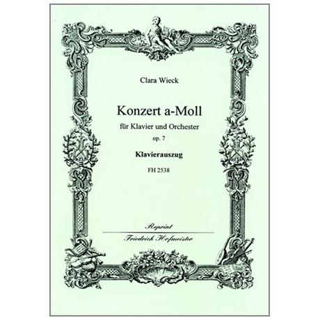 Wieck, C.: Premier Concert pour le Piano-Forte Op. 7