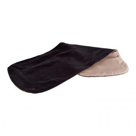 PACATO Velvet instrument blanket black/beige
