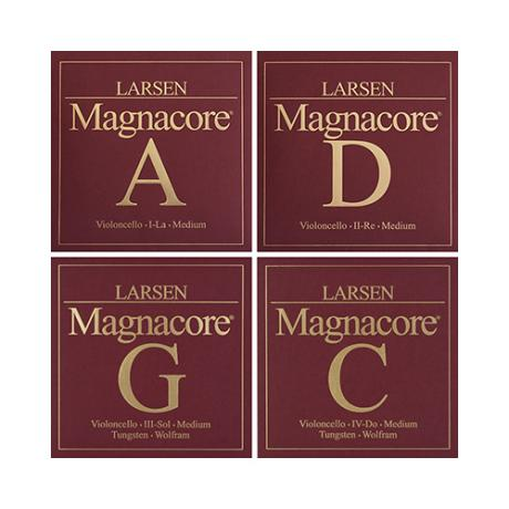 LARSEN Magnacore PURE cello strings SET