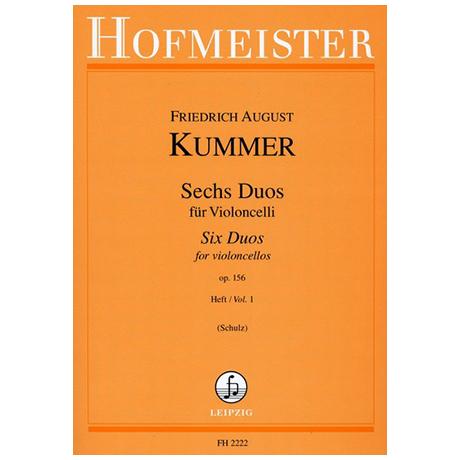 Kummer, F. A.: 6 Duos Op. 156 Band 1