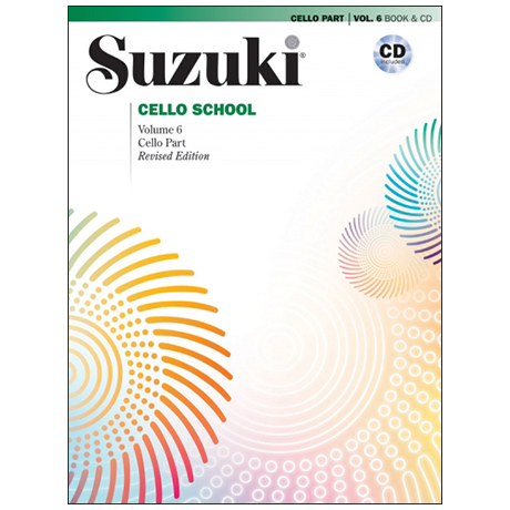 Suzuki Cello School Vol. 6 (+CD)
