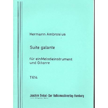 Ambrosius, H.: Suite galante