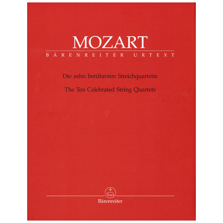 Mozart, W.A.: Die zehn berühmten Streichquartette