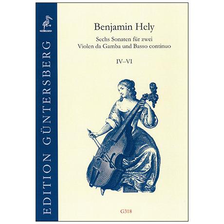 Hely, B.: Sechs Sonaten IV-VI