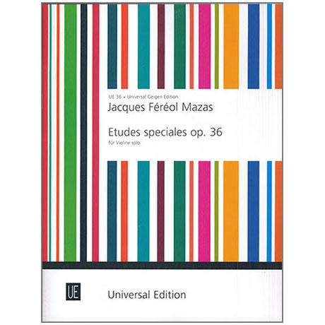 Mazas, J. F.: Etudes speciales Op. 36